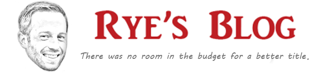 Rye's Blog